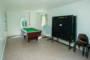 wheelchair accessible shower room