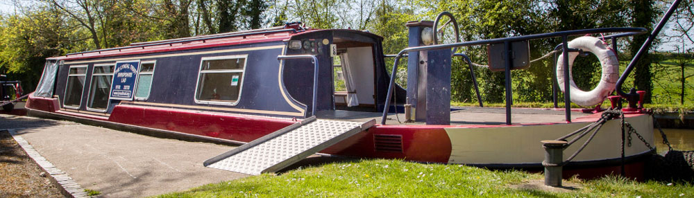 shropshire canal holidays for disabled